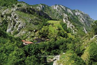 Spanien, Asturien: Tal des Rio Cares