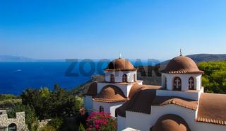 Monastery of Saint Savvas on the Greek island of Kalymnos