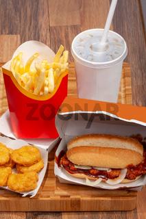 Klassisches Fast-Food