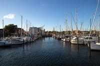 Sailing boats 003. Eckernfoerde. Germany