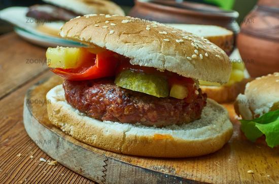 Belgian Bicky Burger