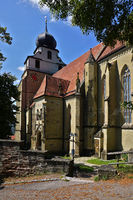 collegiate church, Herrenberg, Baden Wuerttemberg, Germany