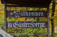 Güntersberge im selketal