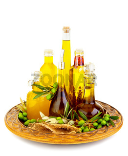 Variety of an olive oils