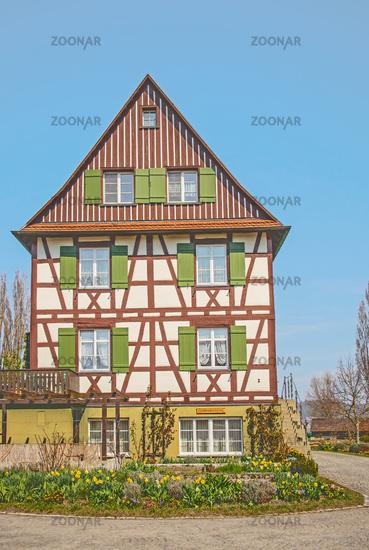 Fachwerkhaus Insel Reichenau am Bodenseee