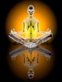 Yoga Meditation pose