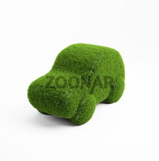 Eco transport concept illustration