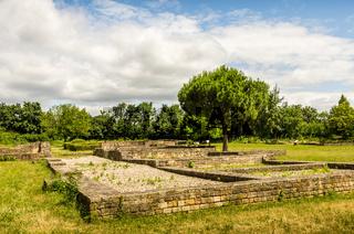 Römischer Gutshof Villa Rustica, Wachenheim, Wachenheim, Rheinland-Pfalz, Deutschland