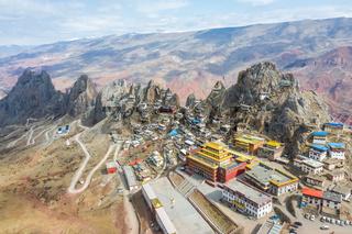 tibet zizhu temple landscape