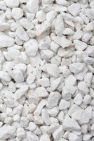 Natural crushed marble chips texture