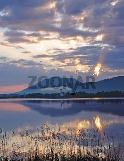 ein Morgen am Forggensee