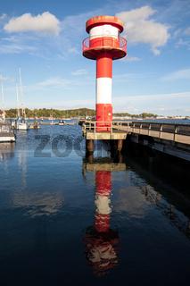 Leuchtturm 001. Eckernfoerde. Deutschland