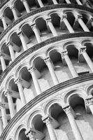 Architecture of Leaning Tower of Pisa