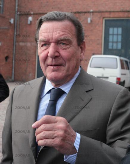 ex-chancellor  Gerhard Schröder