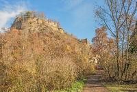 Burgruine Hohenkrähen im Hegau