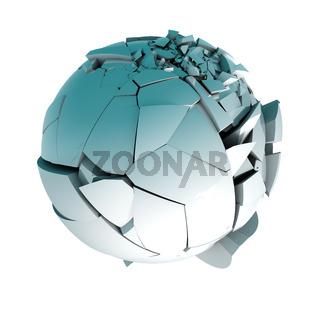 Ball broken concept