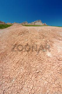 Badlands Parched Landscape