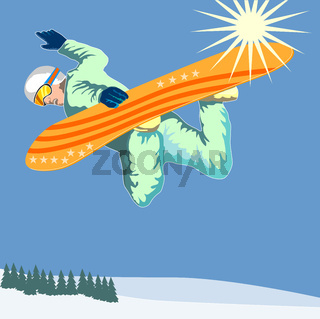 Snowboarding on Air