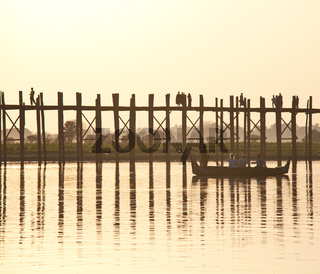 Bridge in Myanmar