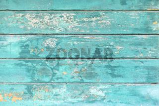 Türkis-blauer Holzhintergrund