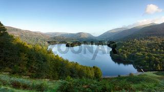 Grasmere at dawn in Lake District