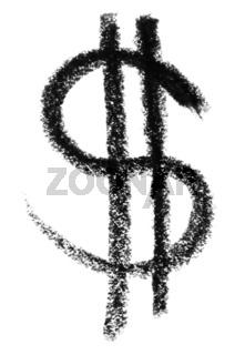 dollar symbol sketch