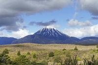 Mount Tongariro in New Zealand