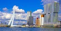 Nieuwe Maas River, Rotterdam, Netherlands