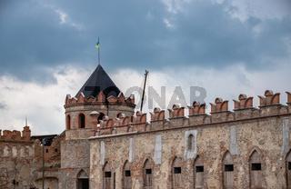 Medzhybish fortress in Ukraine