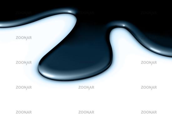 dark blue metallic smudge