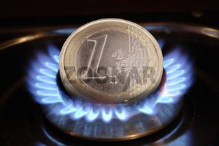 Energiekosten für Gas und Heizung