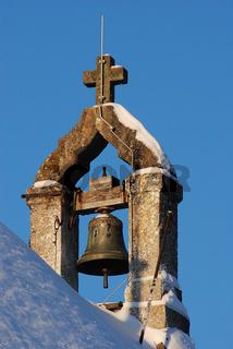 Glockenstuhl der Salmendinger Kapelle