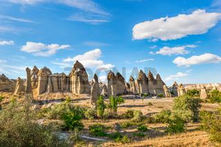 Cappadocian mountain range