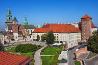 Wawel Cathedral and Castle in Krakow