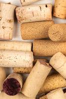 Wine corks closeup photo