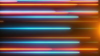 Horizontal creeping lines abstract background.