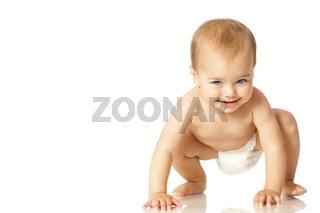 Krabbelndes Baby
