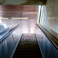 Berlin Subway Escalator