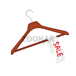 Clothes hanger with sale