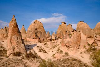 Devrent Valley / Imaginary Valley, a valley full of unique rock formations in Cappadocia, Turkey