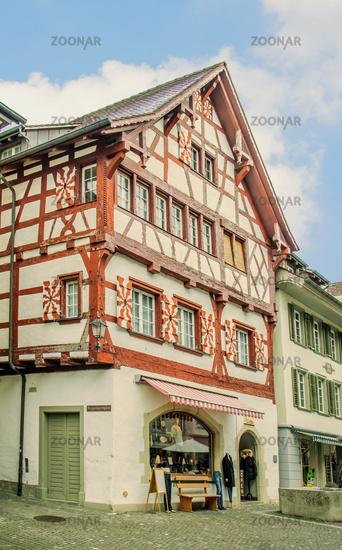 Old town, Stein am Rhein, Switzerland,