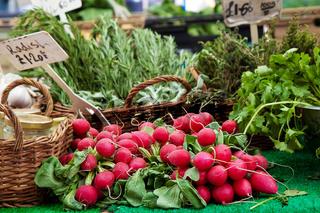 Radish at market