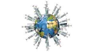 Weltweite Impfkampagne