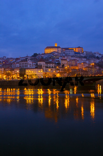 old town of Coimbra, Portugal