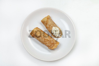Plate With Pancakes