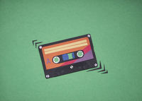 70s, 80s tape cut out