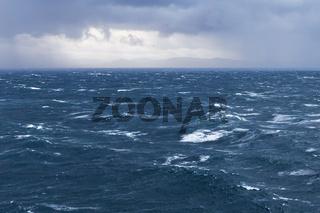 Grobe See im Atlantik, Europäisches Nordmeer vor Norwegen