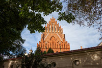 Holy Trinity Church and Dominican Monastery in Krakow