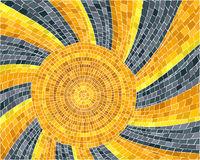 The sun mosaic