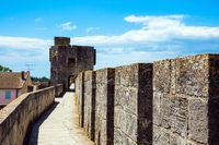 Walking along walls
